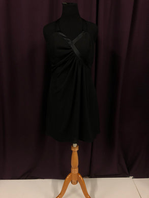 Alfred Angelo Size 18 Black Formal Dress