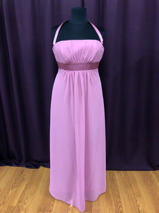 Alfred Angelo Size 18 Purple Long Formal Dress