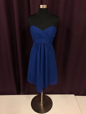 Alfred Angelo Size 2 Blue Formal Dress