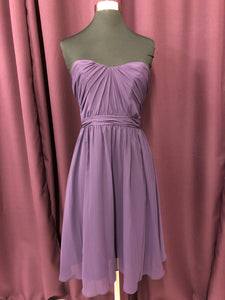 Alfred Angelo Size 2 Purple Formal Dress