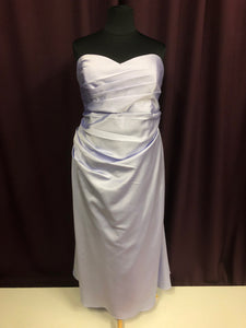 Alfred Angelo Size 24 Purple Formal Dress
