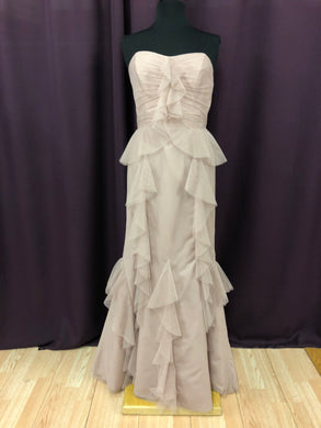 Alfred Angelo Size 6 Ivory Formal Dress