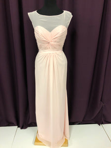 Alfred Angelo Size 8 Blush Pink Formal Dress