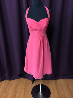 Alfred Angelo Size 8 Pink NEW Formal Dress