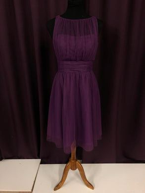 Alfred Angelo Size 8 Purple NEW Formal Dress