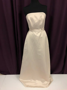Alfred Sung Size 12 Ivory Formal Dress