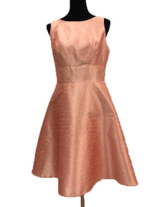 Alfred Sung Size 12 Pink Bow Formal Dress
