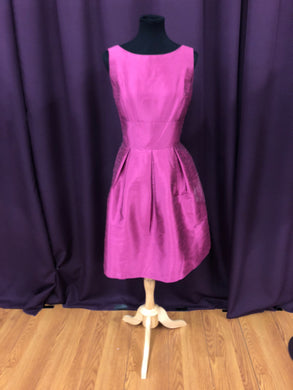 Alfred Sung Size 12 Pink Formal Dress