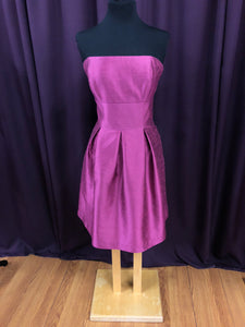 Alfred Sung Size 12 Pink Short  Formal Dress