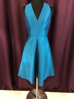 Alfred Sung Size 2 Blue Formal Dress