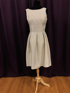 Alfred Sung Size 6 Tan Short  Formal Dress