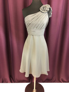 Allure Bridal Size 2 Gray Formal Dress