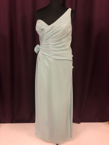 Allure Bridal Size 24 Blue Formal Dress