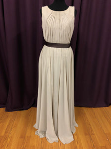 Allure Size 10 Brown Belt  Formal Dress