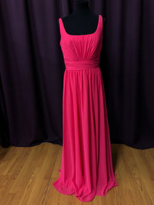 Allure Size 12 Pink Rushing  Formal Dress