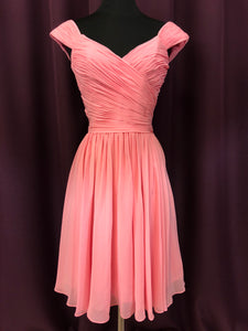 Allure Size 2 Pink Formal Dress