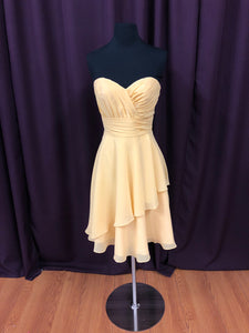 Allure Size 6 Yellow NEW Formal Dress