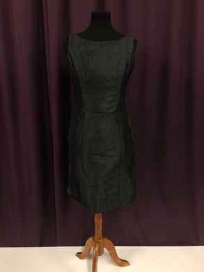 Alvina Valenta Size 12 Black Bow Short Formal Dress