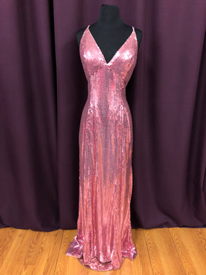 Amelie Size 10 Pink Sequin Formal Dress