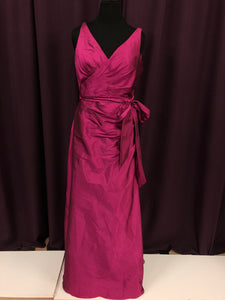 Angelina Faccenda Size 18 Pink Belt  Formal Dress