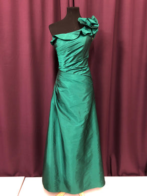 Angelina Size 2 Green Formal Dress