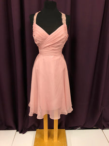 B2 Size 12 Pink Lace Strap NEW Formal Dress