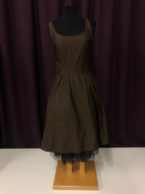 Banana Republic Size 8 Brown Short  Formal Dress