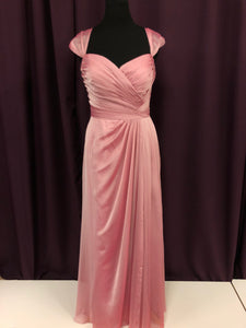 Belsoie Size 18 Pink NEW Formal Dress
