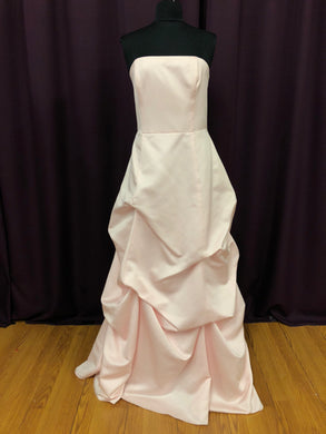 Bill Levkoff Size 12 Pink Rushing  Formal Dress