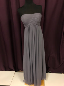 Bill Levkoff Size 8 Gray As Is  Formal Dress