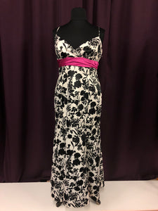 Blondie Size 18 Black Formal Dress