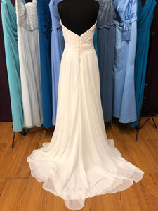 Blue Willow Bride by Anne Barge Size 12 Ivory Wedding Dress