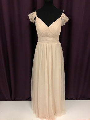 Christaina Collection Size 8 Brown Tulle Rhinestone NEW Formal Dress