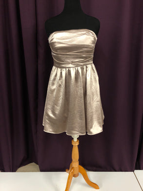 City Triangles Size 12 Gold NEW As Is Formal Dress