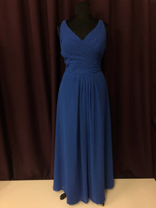 Colour Size 18 Blue Formal Dress