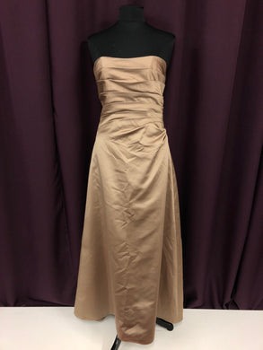 Da Vinci Size 10 Brown Formal Dress
