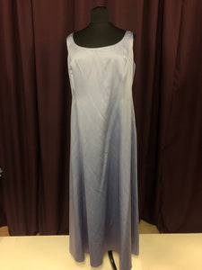 David's Bridal Size 24 Blue Formal Dress