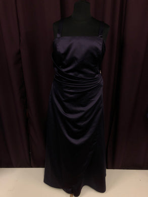 David's Bridal Size 24 Purple Formal Dress