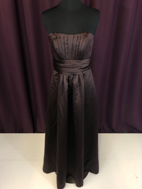 David's Bridal Size 4 Brown Formal Dress