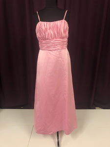Davinci Size 12 Pink Long Rushing Formal Dress