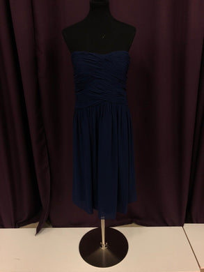 Donna Morgan Size 14 Navy Blue NEW Formal Dress