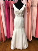 Eden Bridals Size 8 Ivory Bead Sequin Wedding Dress