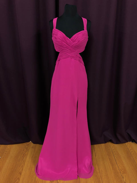 Faviana Dresses Size 8 Pink Formal Dress Bride To Be Consignment