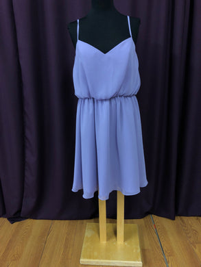 Jasmine Size 12 Purple Formal Dress