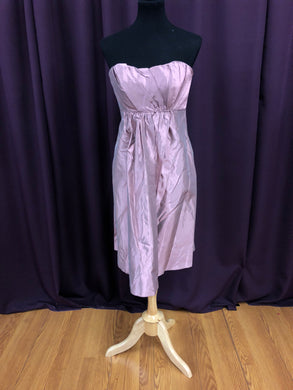 Jim Hjelm Size 12 Pink Formal Dress
