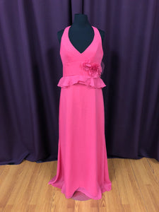 Jim Hjelm Size 12 Pink Long Formal Dress