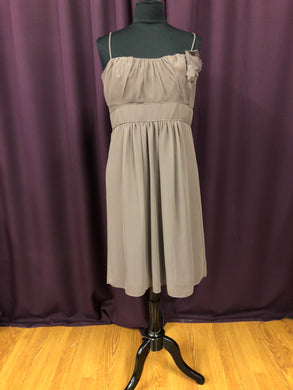 Jim Hjelm Size 14 Brown Formal Dress