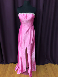 Jovani Size 6 Pink Rhinestone Bead Formal Dress