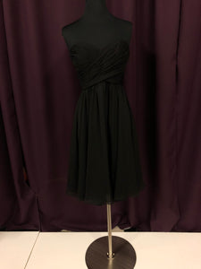 Kennedy Blue Size 0 Black NEW Formal Dress