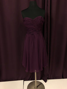 Kennedy Blue Size 0 Purple NEW Formal Dress